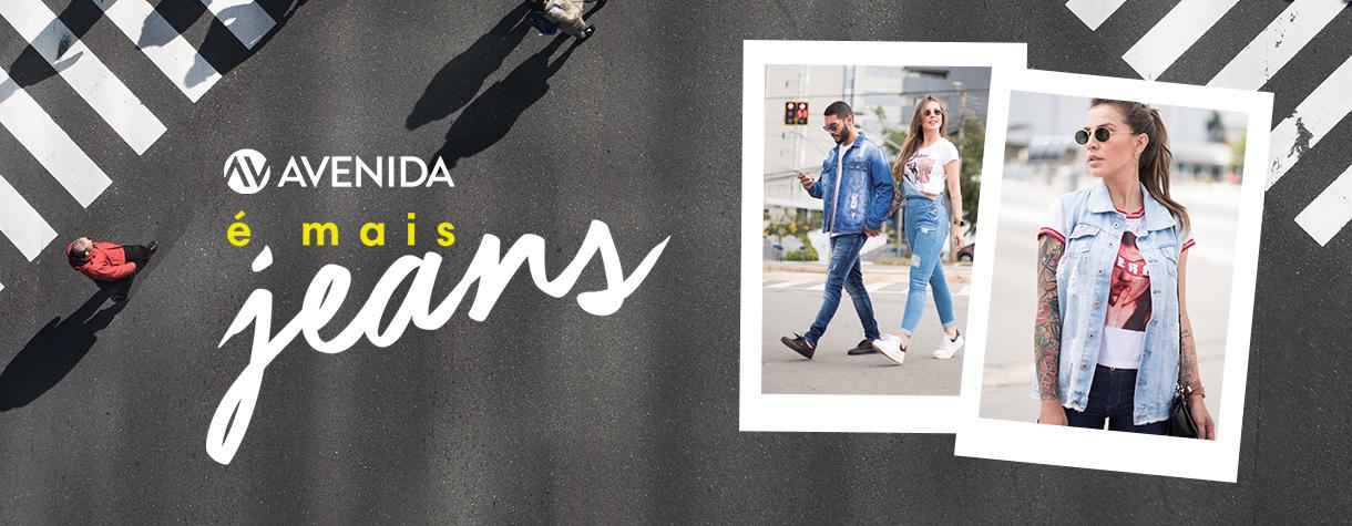 Coleção Jeans Lojas Avenida