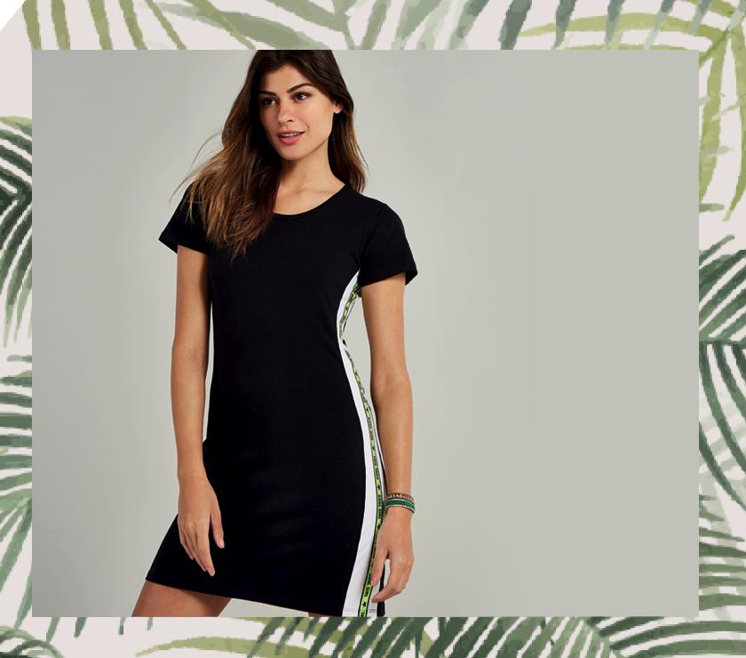 vestido-preto-básico-com-neon