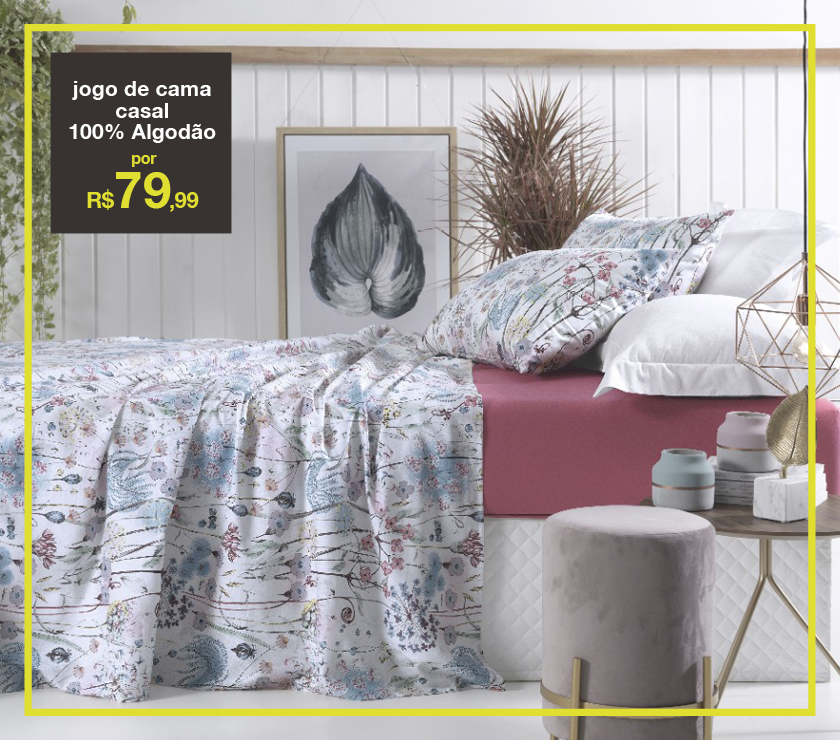 jogo-de-cama-100%-algodão-estampa-floral